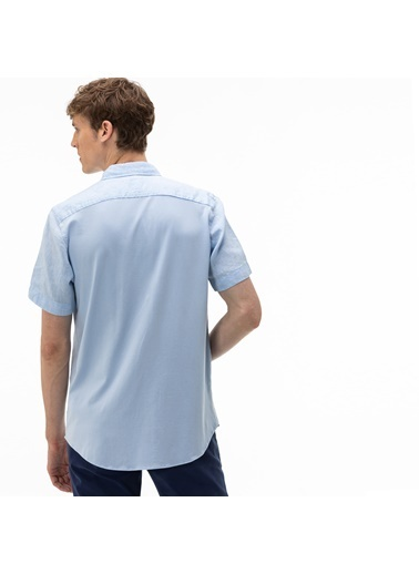 Lacoste Erkek Regular Gömlek CH0055.55M Mavi